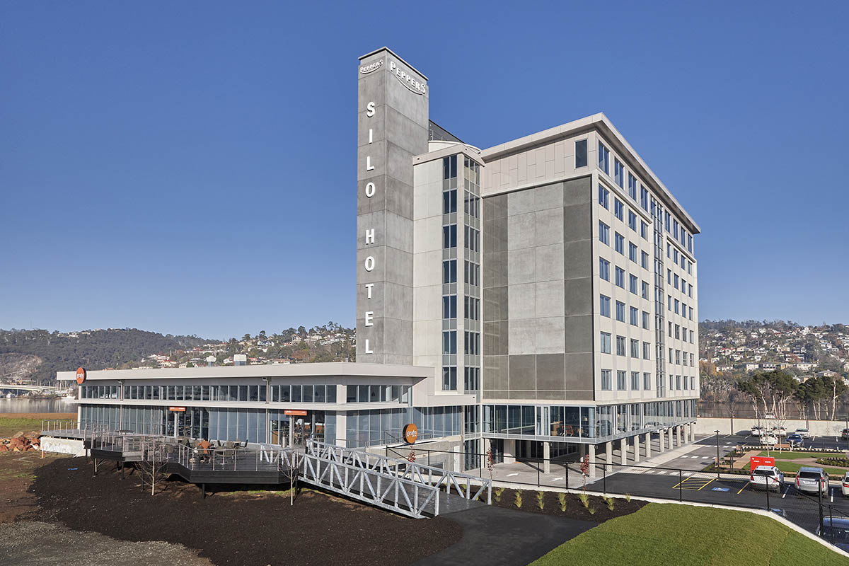 ARTAS Architects, Architects Tasmania, Peppers Silo Hotel