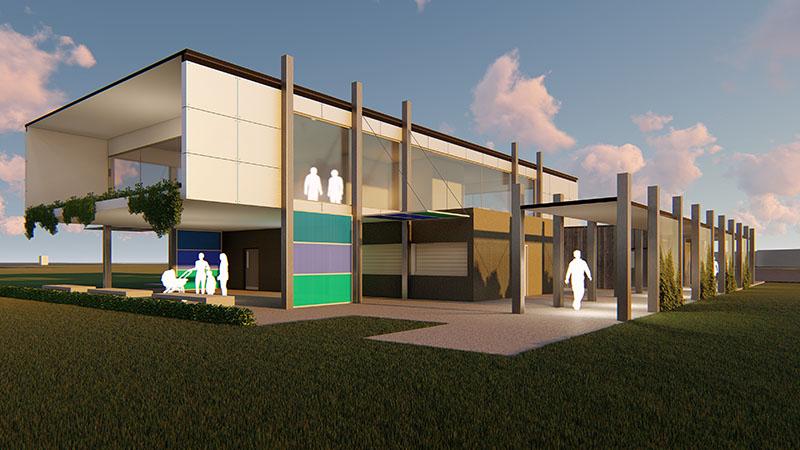 ARTAS Architects, Architects Tasmania, Meercroft Park Redevelopment