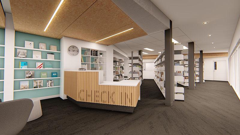ARTAS Architects, Architects Tasmania, Education Design, 3D Render, Riverside High School