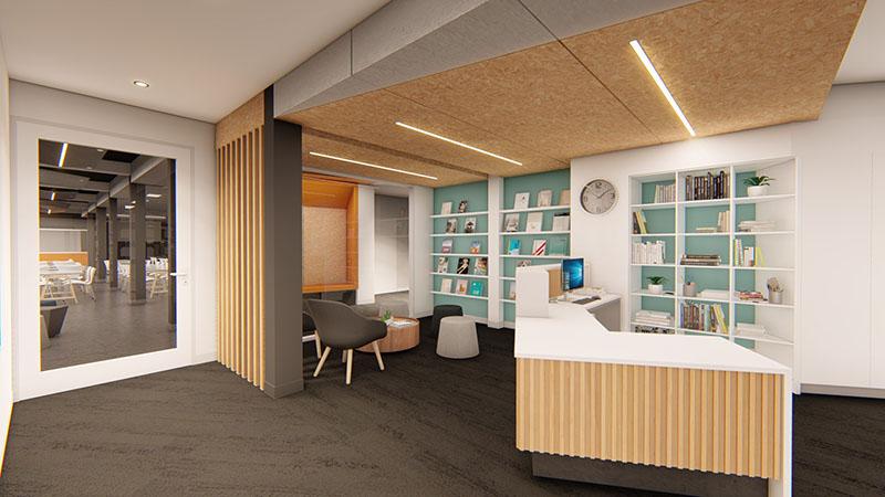 ARTAS Architects, Architects Tasmania, 3D Render, Education Design, Riverside High School