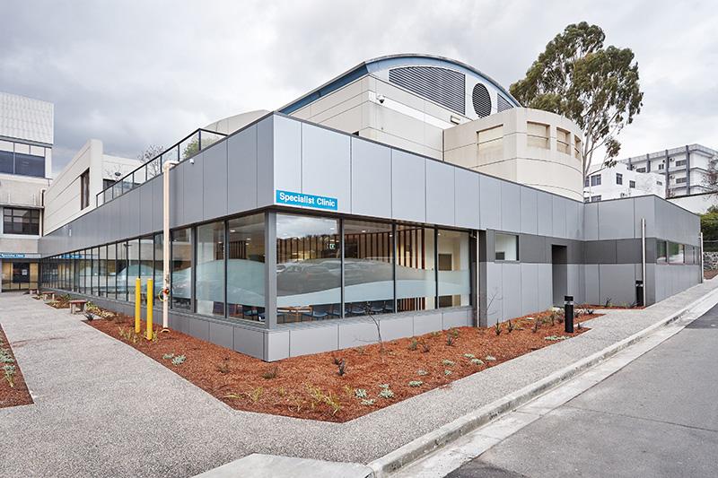 ARTAS Architects, Architects Tasmania, Interior Design Tasmania, Launceston General Hospital Specialist Clinics