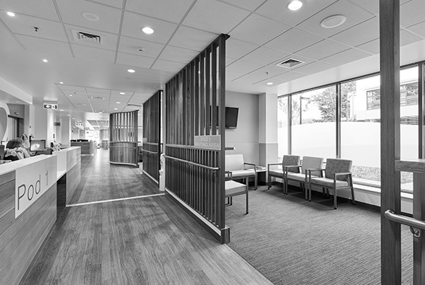 ARTAS Architects, Architects Tasmania, Interior Design Tasmania, Launceston General Hospital Specialist Clinics