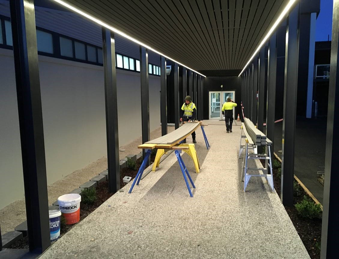ARTAS Architects, Architects Tasmania, Longford Recreation Ground, Construction Photo